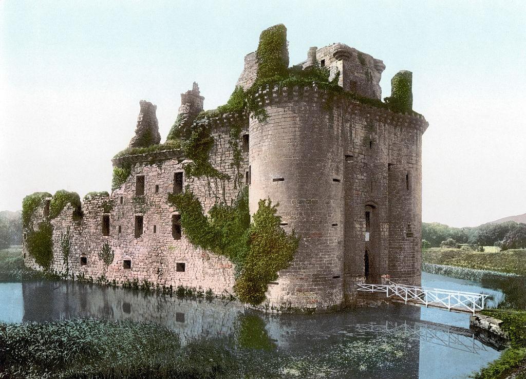 Die Burgruine um das Jahr 1900