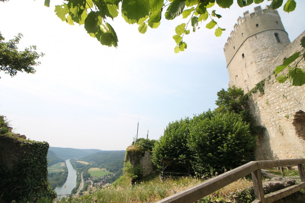 Aussicht von Burg Randeck