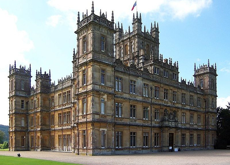 Downton abby Highclere_Castle