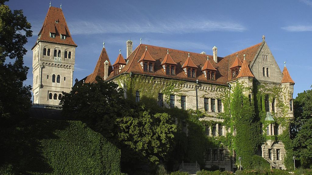 Das Faberschloss in Stein /  Foto: Wikipedia / Press-office.fc.de / CC-BY-SA 3.0