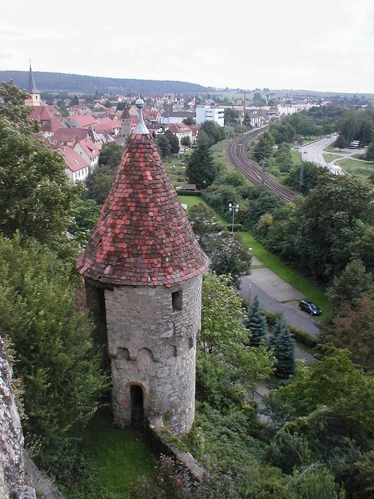 Blick vom Gundelsheimer Schloss auf das Neckartal / Foto: Wikipedia / p.schmelzle / CC-BY-SA 2.5
