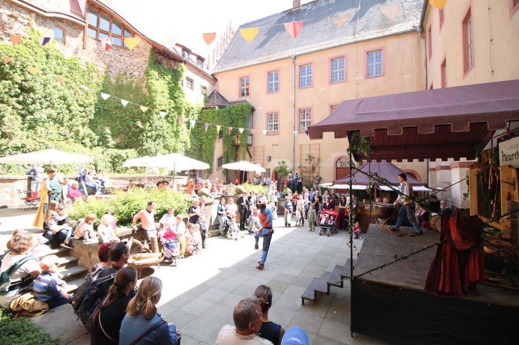 Mittelalterfest: Der Schlosshof wird zur Bühne