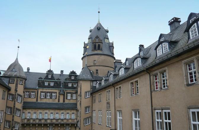 Innenhof von Schloss Detmold / Foto: Wikipedia / Nikater / GFDL