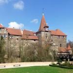 Leer stehendes Wenzelschloss Lauf soll an Kaiser Karl IV. erinnern