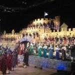 Musikschau Schottland: Dröhnende Dudelsäcke im Highland Valley Castle