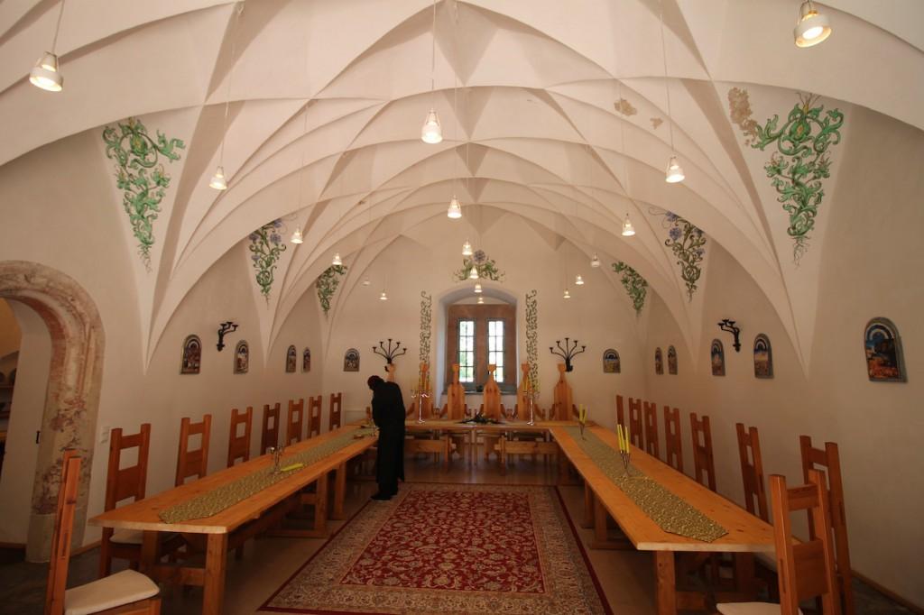 Saal im Schloss: Reichlich Platz für Hochzeitsfeiern
