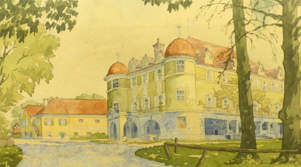 unbekanntes Schloss Bild von 1947(1)