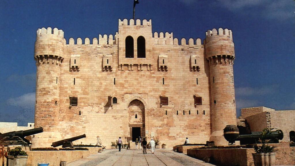 Alexandria Leuchtturm Standort Festung Kait Bay