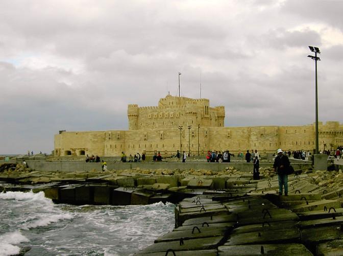 Die  Kait-Bay-Festung heute / Foto: Wikipedia / Papillus / CC-BY-SA 3.0