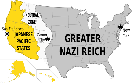"Und so sehen die USA in ""The Man in the High Castle aus"" / Bild: Wikipedia / Rama / CC-BY-SA 2.0fr"