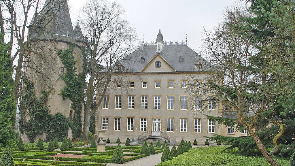 Schloss Schengen / Foto: Wikipedia / Cornischong / CC-BY-SA 3.0