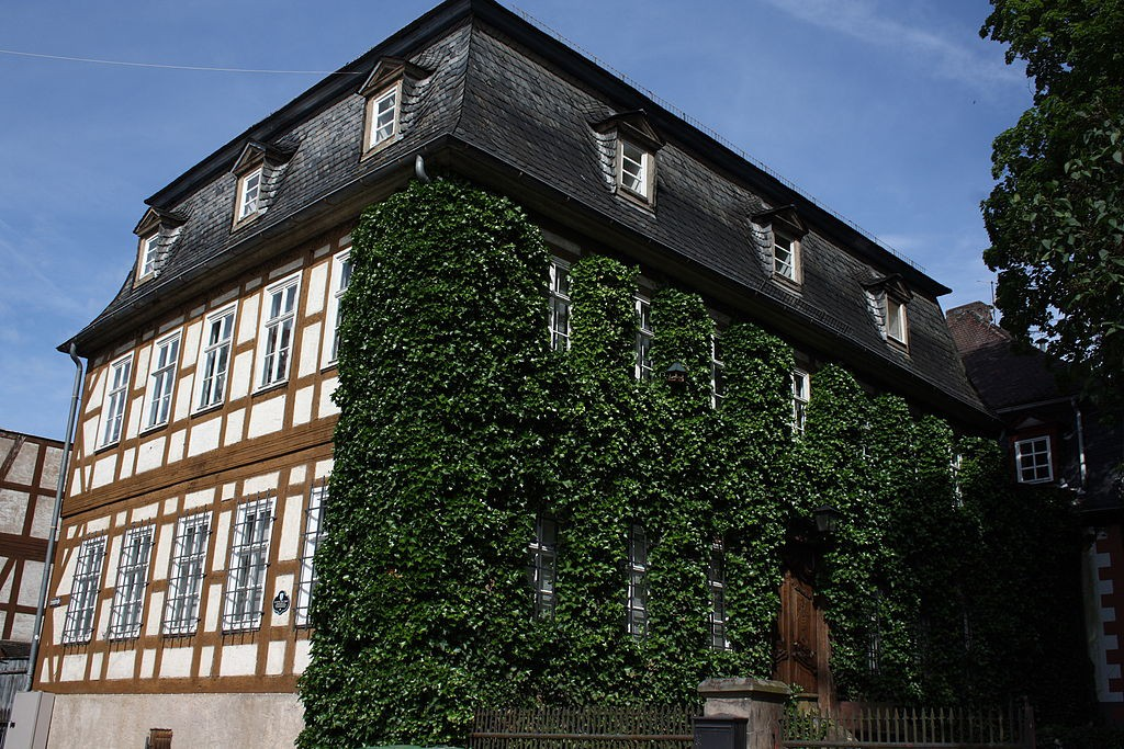 Schloss Wächtersbach: Das sogenannte Prinzessinnenhaus / Foto: Wikipedia / Reinhardhauke / CC-BY-SA 3.0
