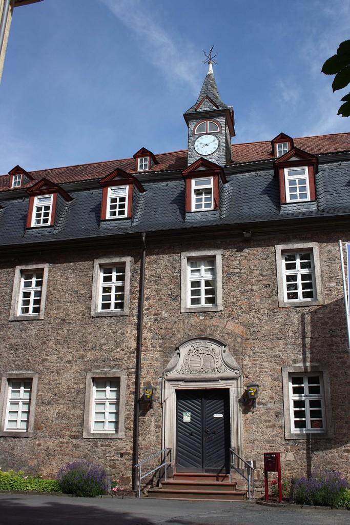Schloss Wächtersbach: Eingang zur Rentkammer / Foto: Wikipedia / Reinhardhauke / CC-BY-SA 3.0