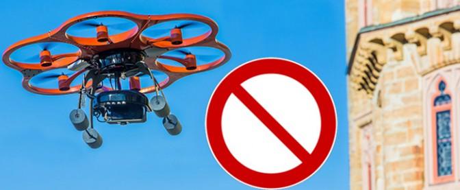 Auf Burg Hohenzollern sind Drohnenflüge seit Mitte Januar 2016 verboten / Foto: Pressemitteilung Burg Hohenzollern