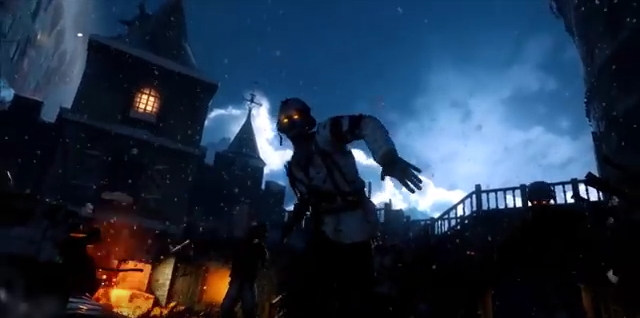 Zombie-Alarm auf Burg Hohenwerfen / Bild: Screenshot Youtube