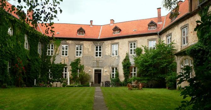 Der schmucke Innenhof von Schloss Wendhausen / Foto: gemeinfrei