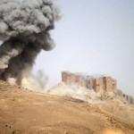 Syrisches Regime erobert Palmyra: Schwere Schäden an Zitadelle