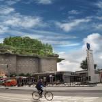 Dschungel-Dachgarten für Hamburger Flakturm?