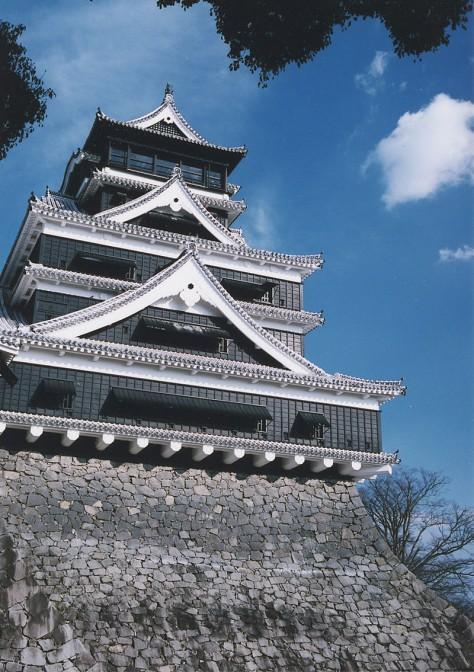 Kumamoto Castle vor dem Erdbeben / Foto: gemeinfrei