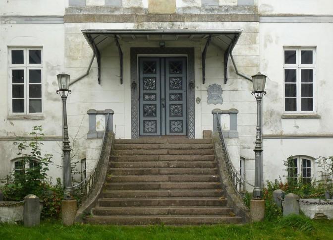 Eingang von Schloss Rantzau / Foto: Wikipedia / Holger.Ellgaard / CC-BY-SA 3.0