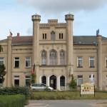 Großbrand zerstört Schloss Charlottenthal