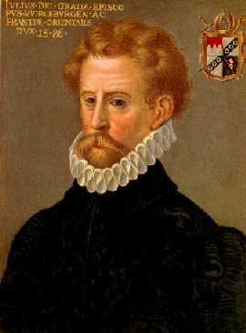 Bischof Julius Echter von Mespelbrunn: Der fanatische Hexenverfolger gilt als Erbauer des Schlosses / Bild: gemeinfrei
