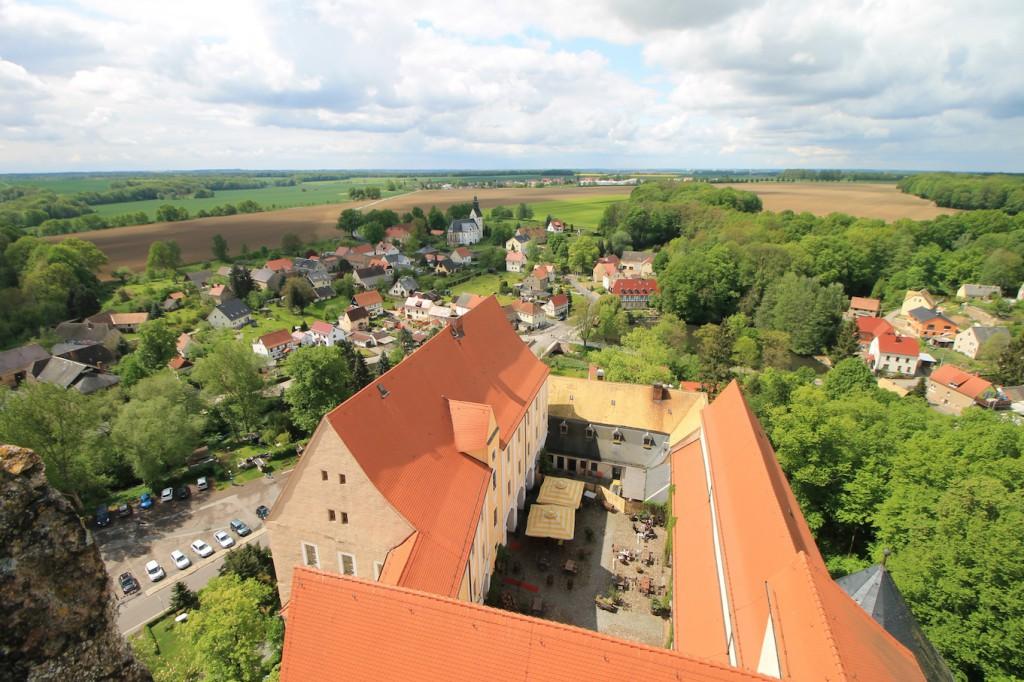Die Aussicht vom Burgturm