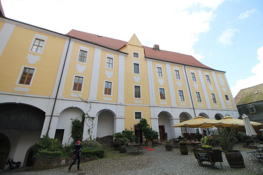 Burg Gnandstein: Der Wohnbau