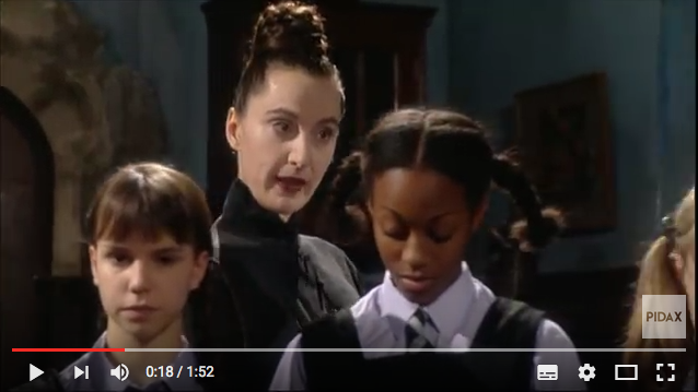 "So sah ""The worst witch""/""Eine lausige Hexe"" in der 1999er-Version aus / Bild: Screenshot Youtube"