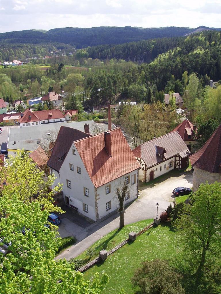 Blick vom Bergfried / Foto: gemeinfrei
