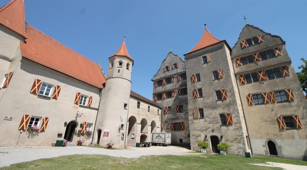 Burg Harburg mit Schlosskirche St. Michael