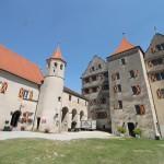 Tunnel-Bauarbeiten beschädigen Burg Harburg