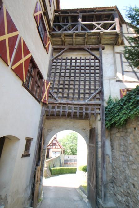 Fallgatter am Oberen Tor