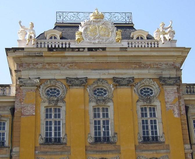 Der Mittelrisalit von Schloss Dornburg / Foto: Doris Antony / CC-BY-SA 3.0