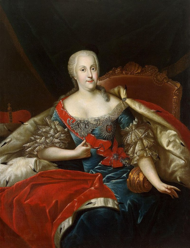Liess das Schloss bauen: Johanna Elisabeth von Anhalt-Zerbst / Bild: gemeinfrei