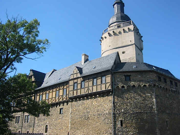 Burg Falkenstein im Hartz