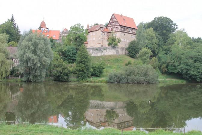 Schloss Rechenberg: Die Lage ist malerisch...