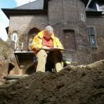 Überraschende Funde bei Grabung auf Burg Linn