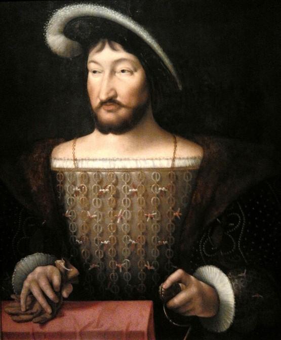 Wollte dringend Kaiser werden: Franz I., König von Frankreich - Auftraggeber von Schloss Chambord. Bild: gemeinfrei