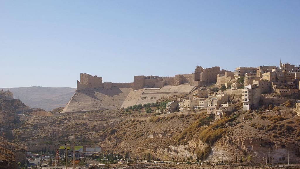Burg Kerak in Jordanien / Foto: Wikipedia / Berthold Werner / CC-BY-SA 3.0