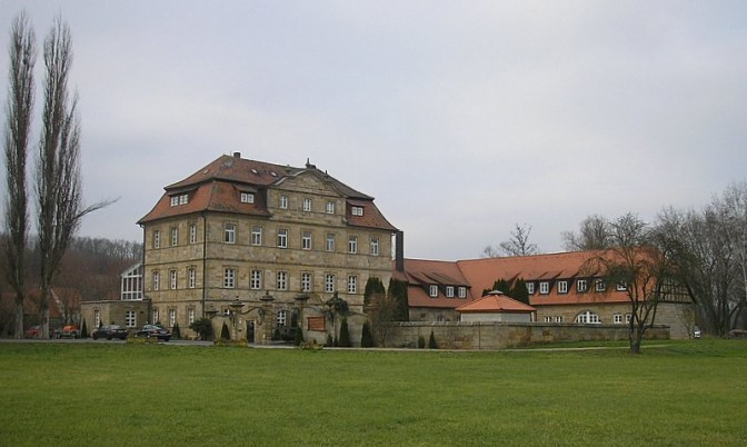 Schloss Gleusdorf / Foto (und Foto oben): Wikipedia / Dark Avenger / CC-BY-SA 3.0