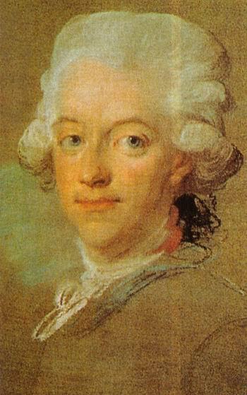 Spukt er im Schloss?: Der 1792 ermordete Schwedenkönig Gustav III. in jungen Jahren / Bild: gemeinfrei