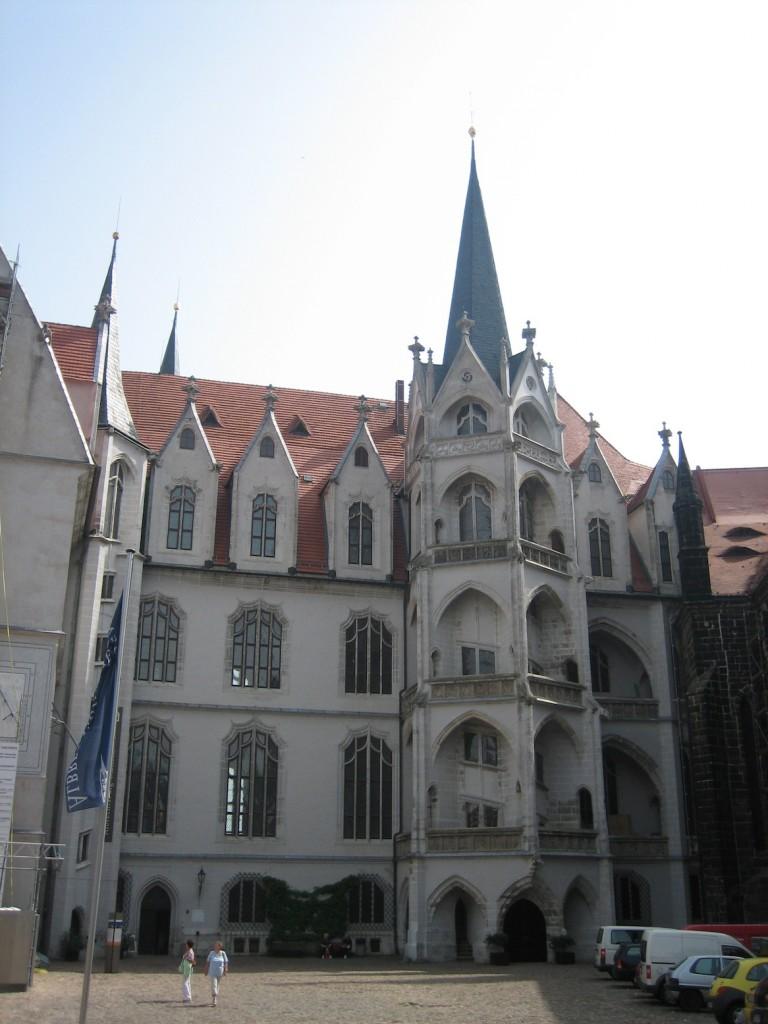Vorbild für den Wendelstein in Torgau: Der große Wendelstein der Albrechtsburg / Foto: Burgerbe