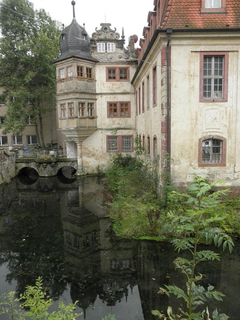 Der Renaissanceerker von Schloss St. Ulrich / Foto: Wikipedia / Wikswat / CC-BY-SA 3.0