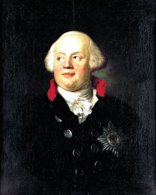Preußen-König Friedrich Wilhelm II.: Ließ er die silberne Schatulle in der Schlosskirche verstecken? Bild: gemeinfrei