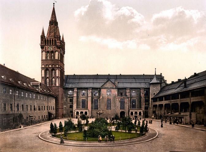 Der Schlosshof / Foto: gemeinfrei