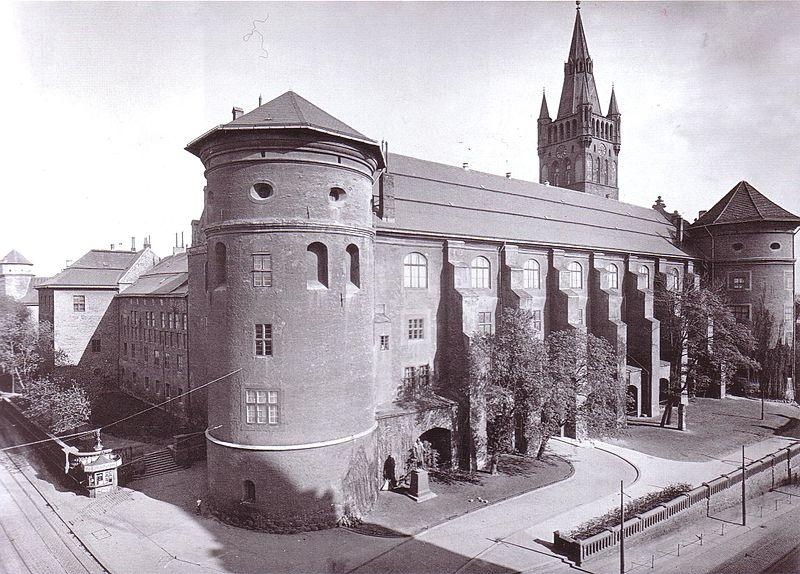 Koenigsberger Schloss Ostpreussen