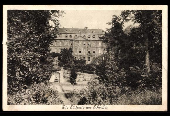 Das Schloss als Kinderheim in den 1920er Jahren auf einer Postkarte / Foto: gemeinfrei
