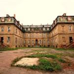 Elsa-Brändström-Schloss Neusorge verfällt