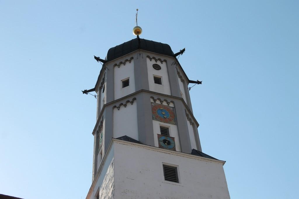 Der Glockenturm: Ein umgebauter Bergfried.